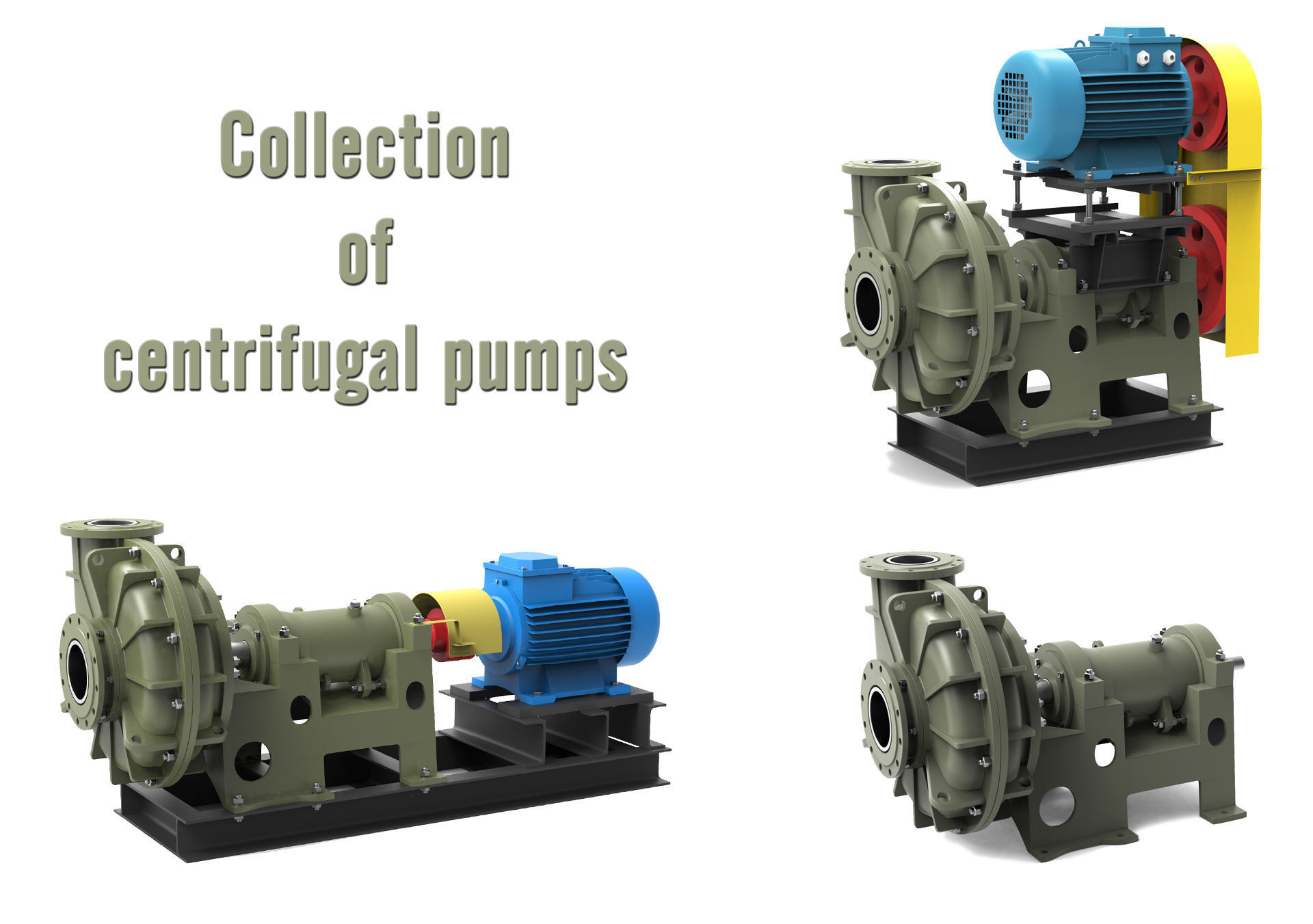 Collection of Centrifugal Pumps V1