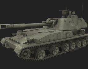 3D asset Tank 2s3 Akatsiya