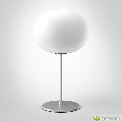 glo-ball t1 table lamp 3d model max obj mtl fbx 1
