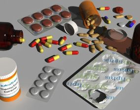 3D Pills and drugs