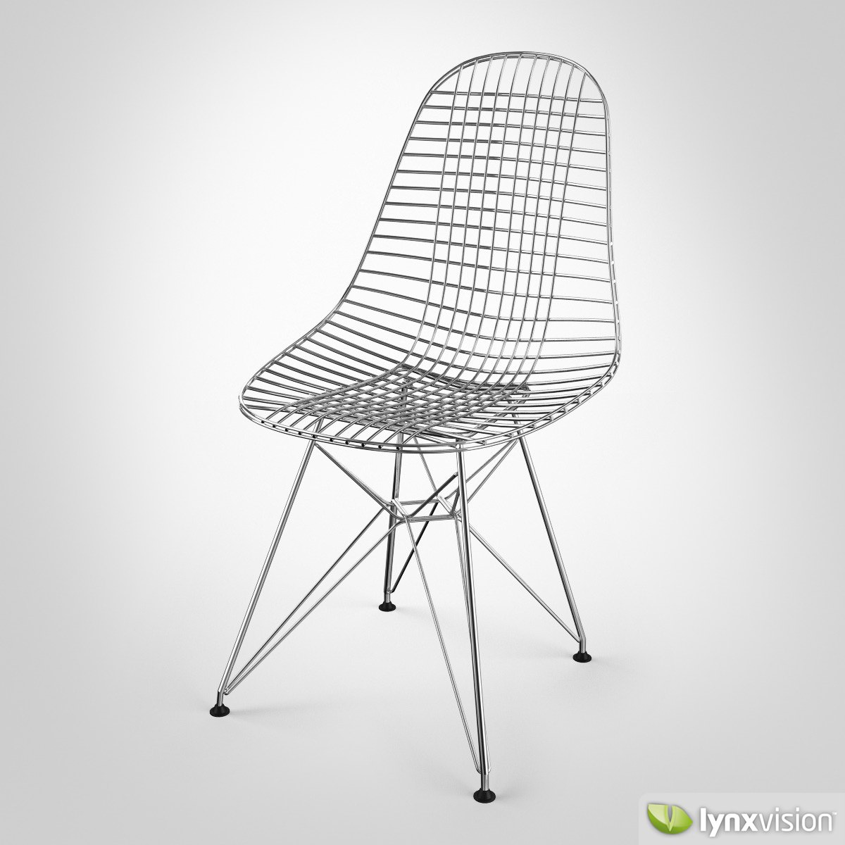 Wire Chair DKR 3D | CGTrader