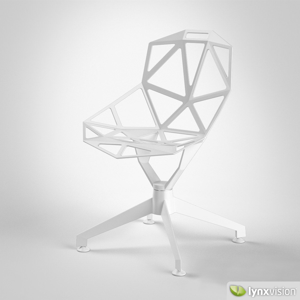 chair one magis 3d model max obj fbx. Black Bedroom Furniture Sets. Home Design Ideas