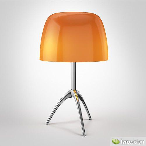 3d model lumiere 05 by foscarini cgtrader - Foscarini lumiere table lamp ...