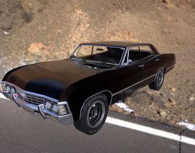 Chevrolet impala 1967 3D asset