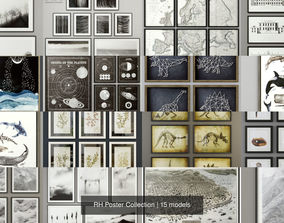 3D model RH Poster Collection