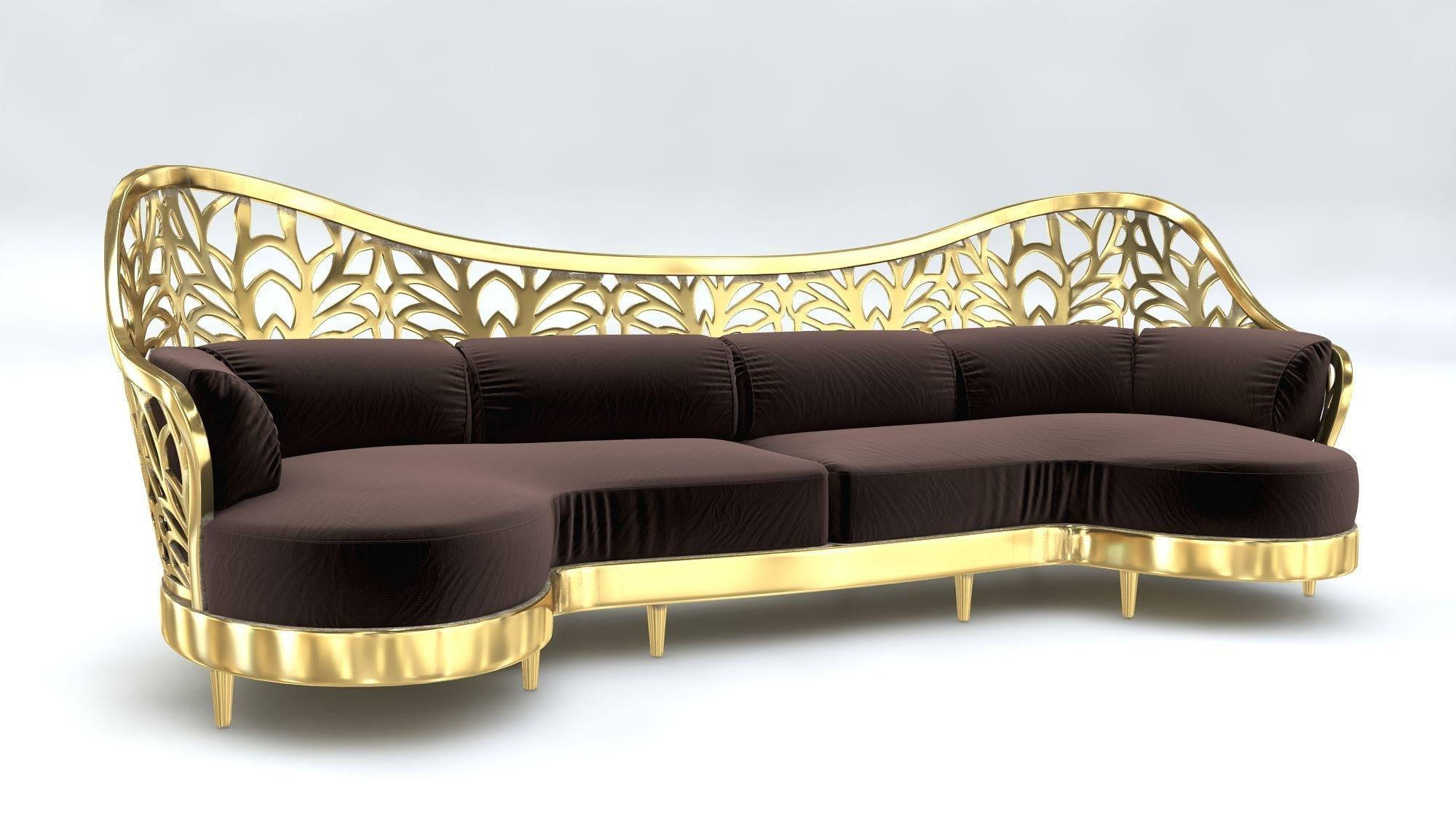 Arabic Sofa Art Deco 3D Model