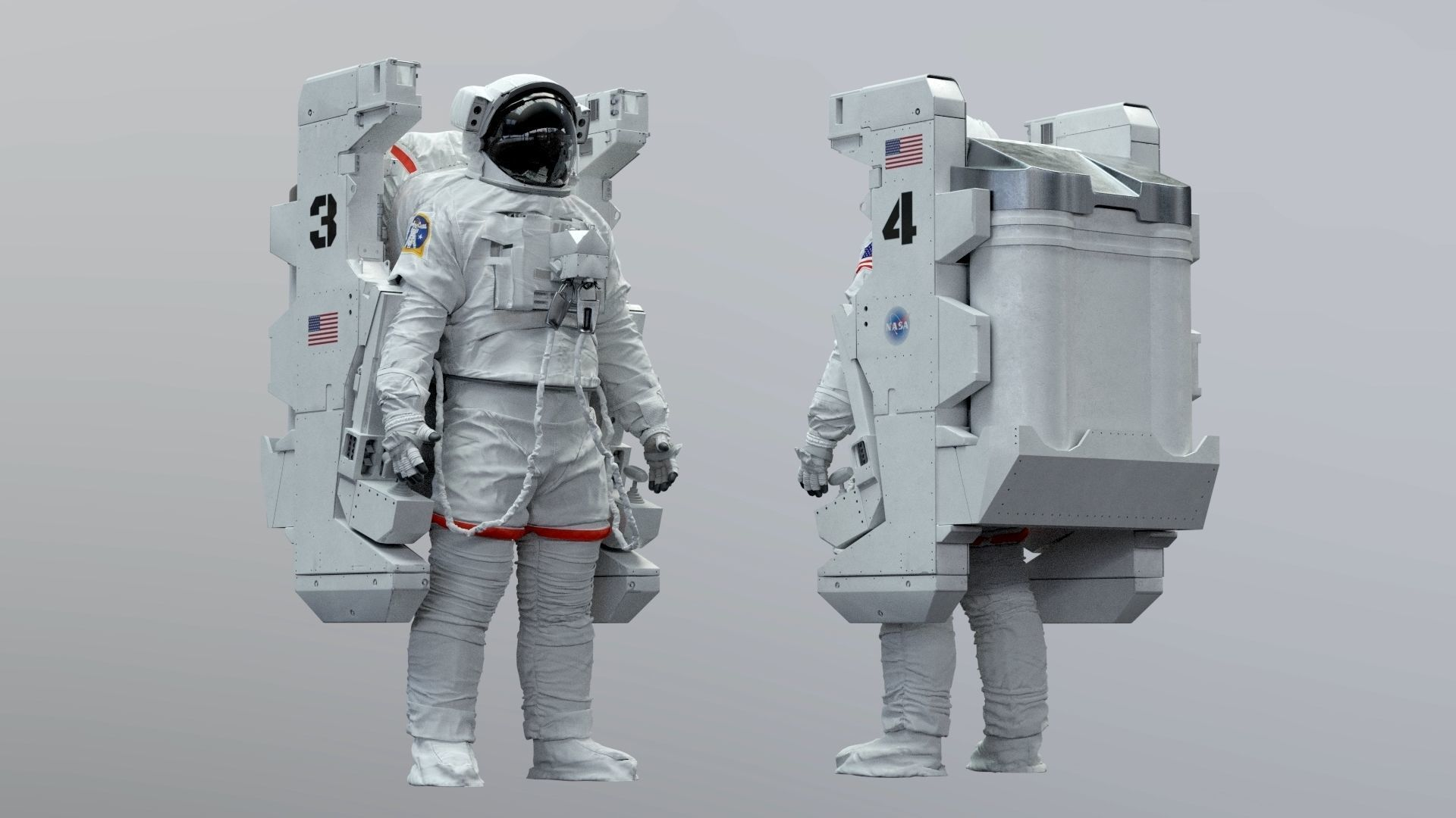 SPACESUIT NASA EMU MMU SAFER
