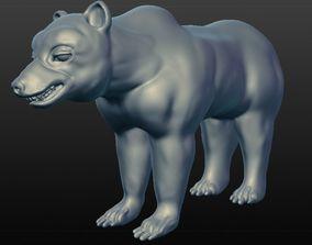 ursa grizzly bear 3D model