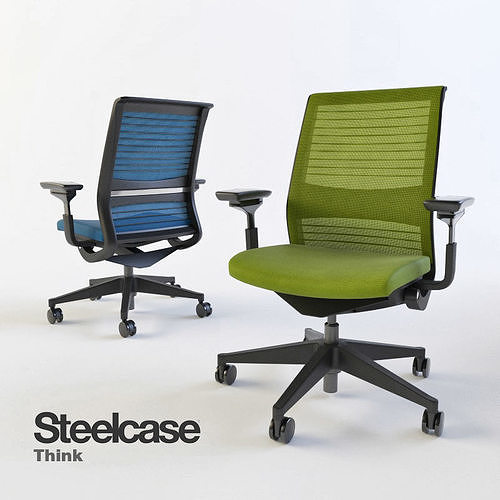 Steelcase Think Office Chair Office Amazon Steelcase Think Swivel Office Chair 3d Model Max Fbx Steelcase Steelcase Think Swivel Office Chair 3d Cgtrader