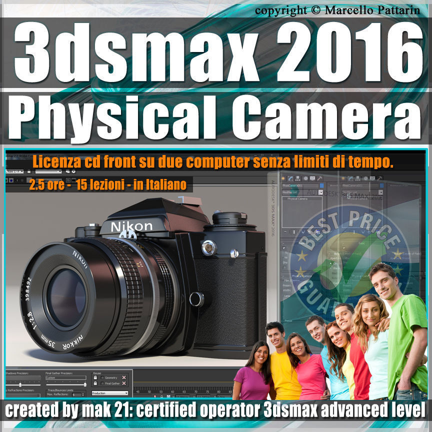 002 3ds max 2016 Physical Camera vol 2 CD Front