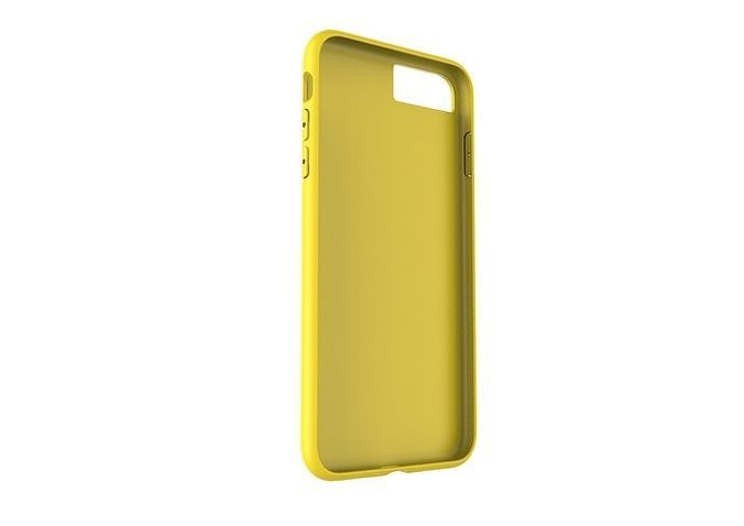 iphone 8plus yellow case original customizable design 3d model low-poly obj mtl 3ds fbx stl 3dm skp 1