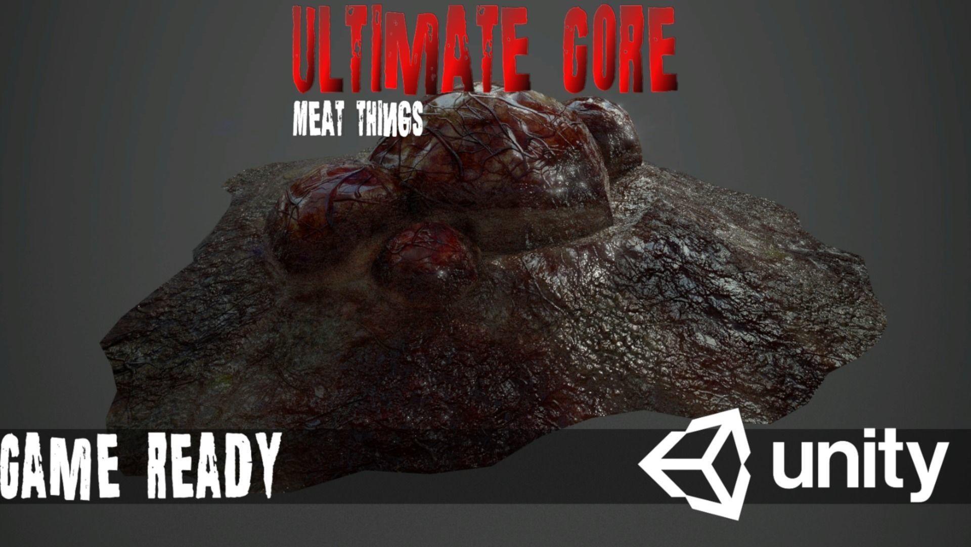 Ultimate Gore - PBR MeatThings