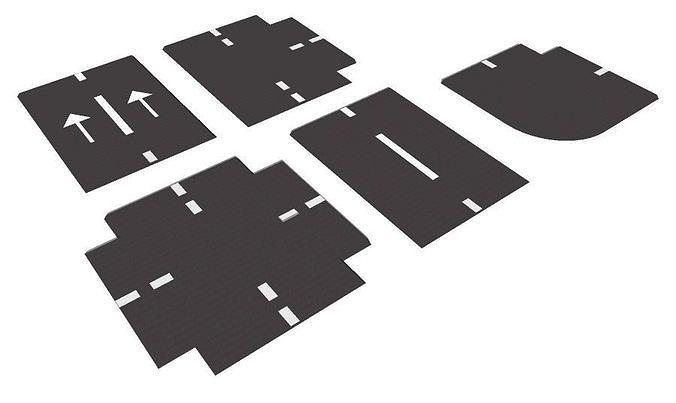 3D model FREE Road - Variations   CGTrader