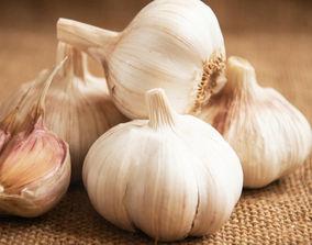 garlics 3D asset