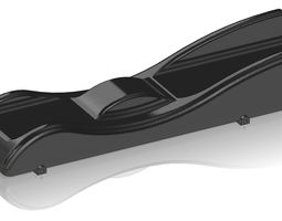 3D print model Batmobile Pinewood Derby Car
