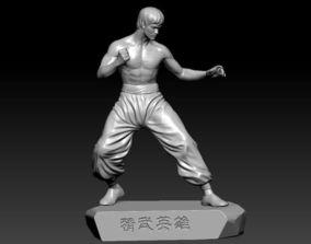 3D print model Bruce Lee
