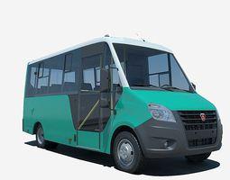 Gazelle NEXT Bus 3D Model