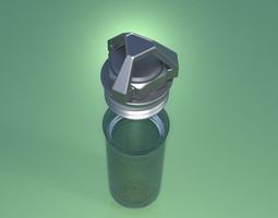 Geocaching Capsule Design 1 3D print model