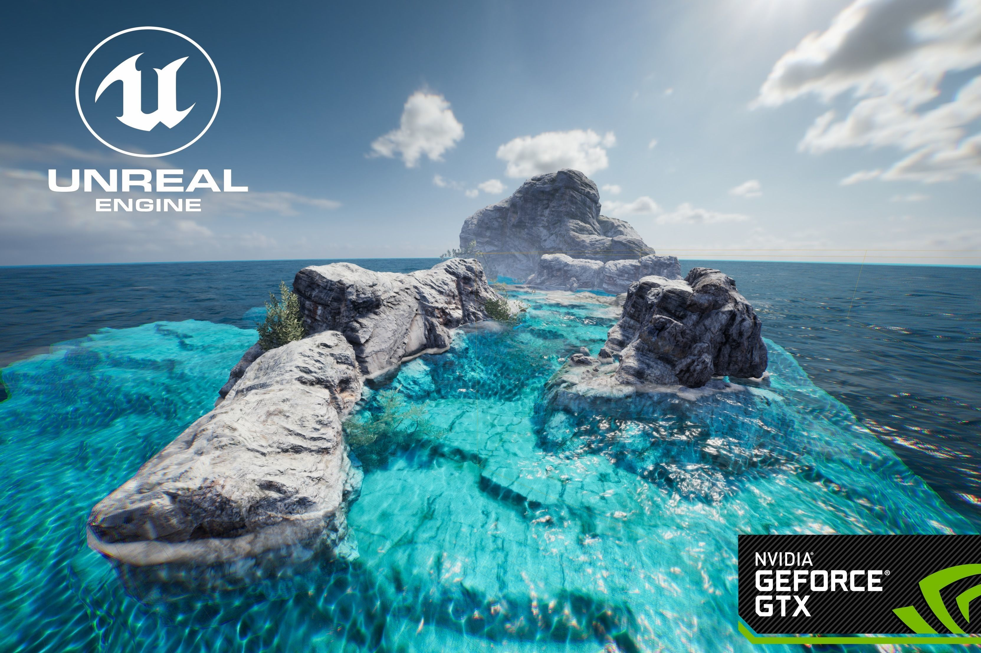 Unreal Engine 4 Olympicshader 3d Model