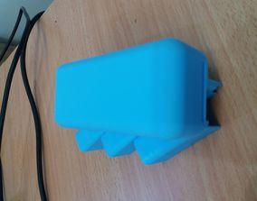 3D print model Mirror attach toothbrush holder