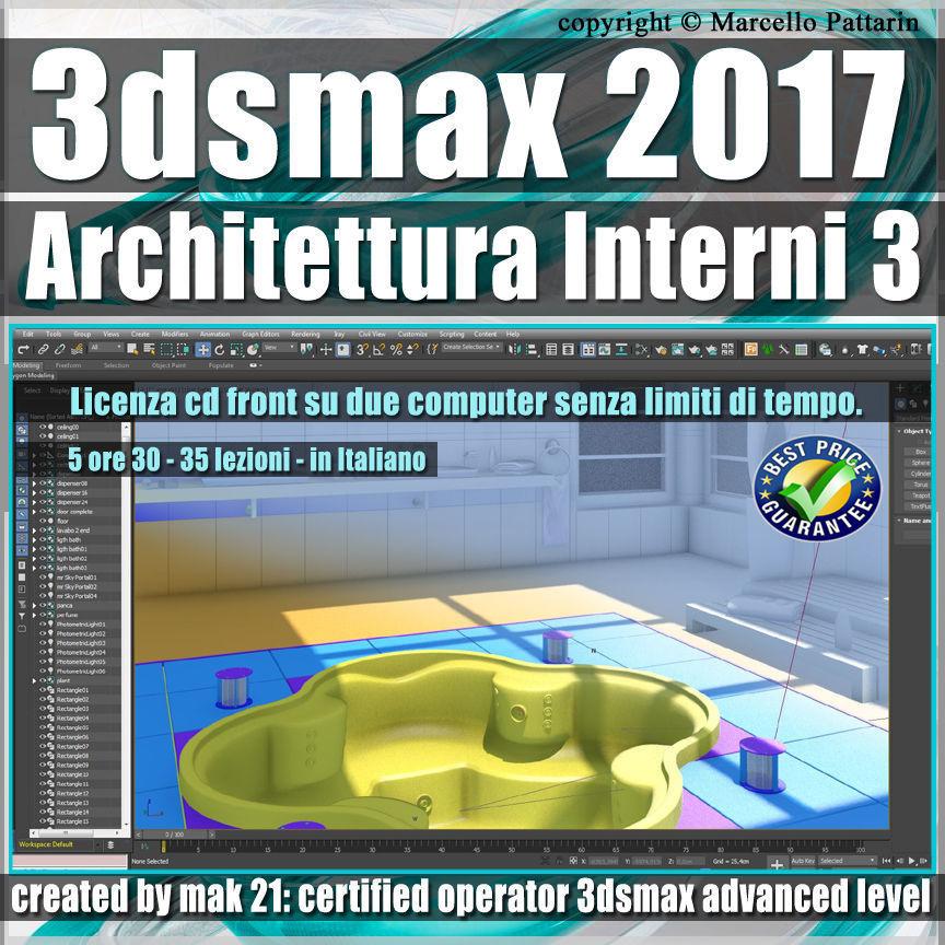 032 3ds max 2017 Architettura Interni vol 32 cd front