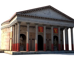 3D asset Ancient Rome Building