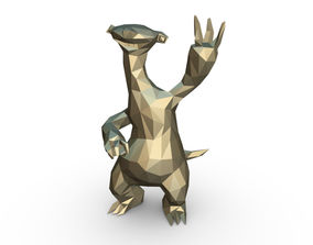 Ice Age Character Sid 3D printable model