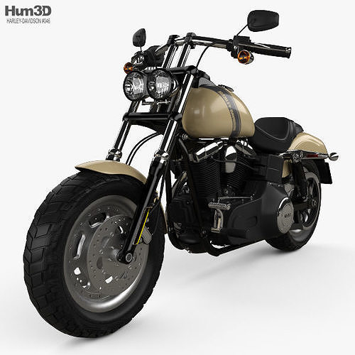 Harley Davidson Dyna Fat Bob 2016 Model