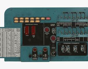 3D model Mi-8MT Mi-17MT Left Circuit Breaker Console