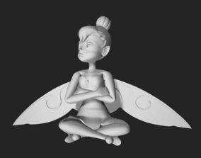 3D print model Angry Tinkerbell