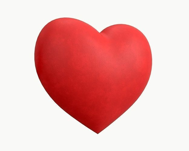 heart small 3d model max obj mtl fbx mdl 1
