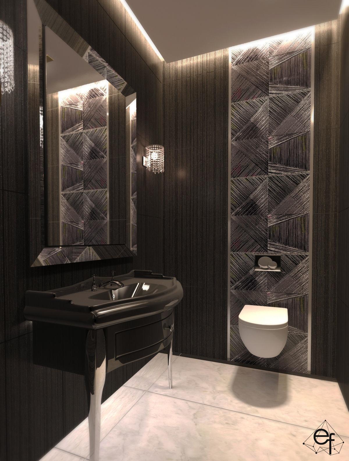 Modern Black Toilet - Erfe Design 3D model | CGTrader on Model Toilet Design  id=59028