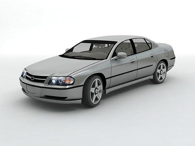 2003 Chevy Impala Sedan   3D model