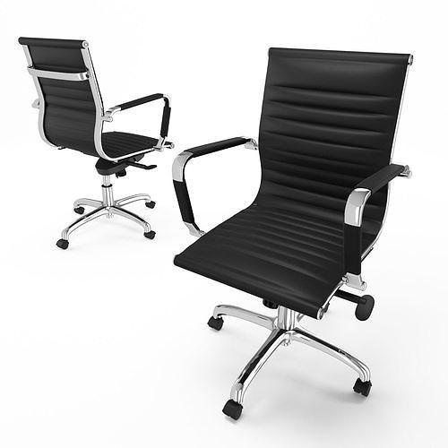 Regency Solace Black Swivel Chair