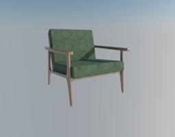 3D modern chair room