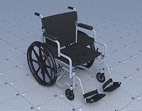 Wheel Chair 3D model VR / AR ready