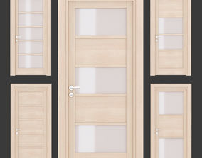 Ital doors Light Oak 4 3D model