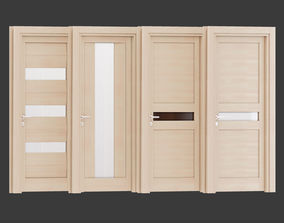 Ital doors Light Oak 6 3D model