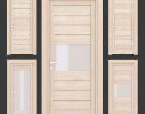 Ital doors Light Oak 2 3D model