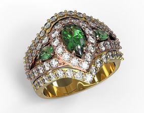 Beautiful Jewelry ring 3D print model