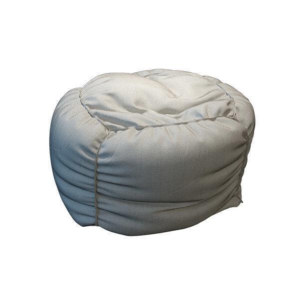 Superb Bean Bag 3D Model Pabps2019 Chair Design Images Pabps2019Com