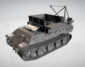 machinery 3D model Bergerat Tank