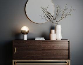 interior Decorative Set 05 3D model