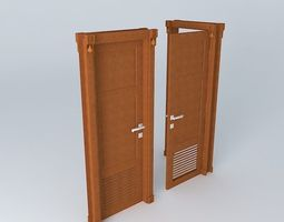 Doors By Louver 3D
