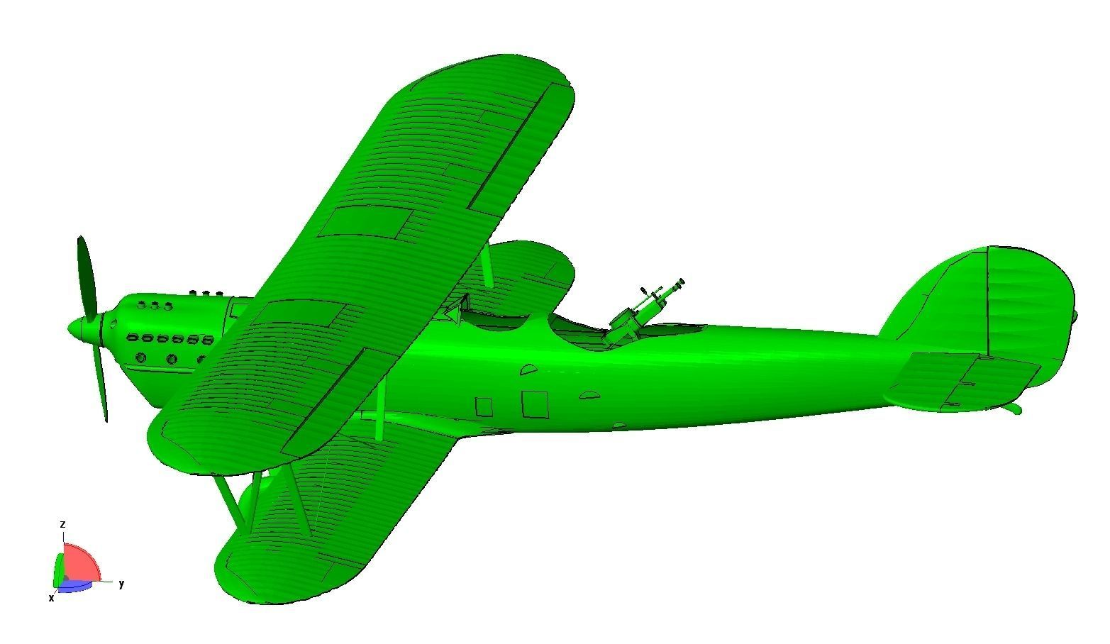 Aero A-101 biplane