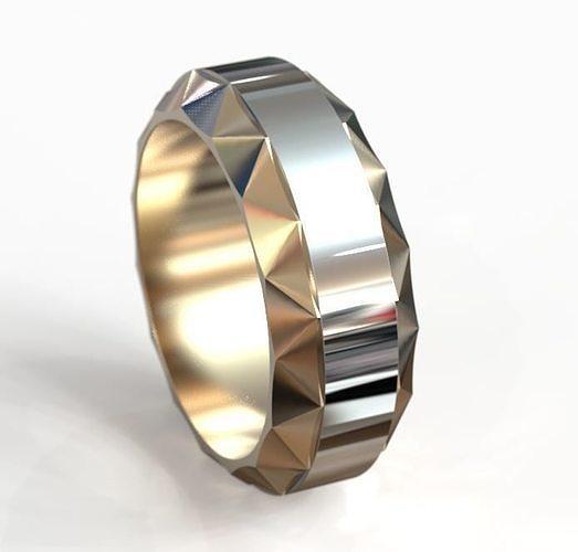 rotating wedding ring obr 5 3d model obj mtl stl 3dm 1