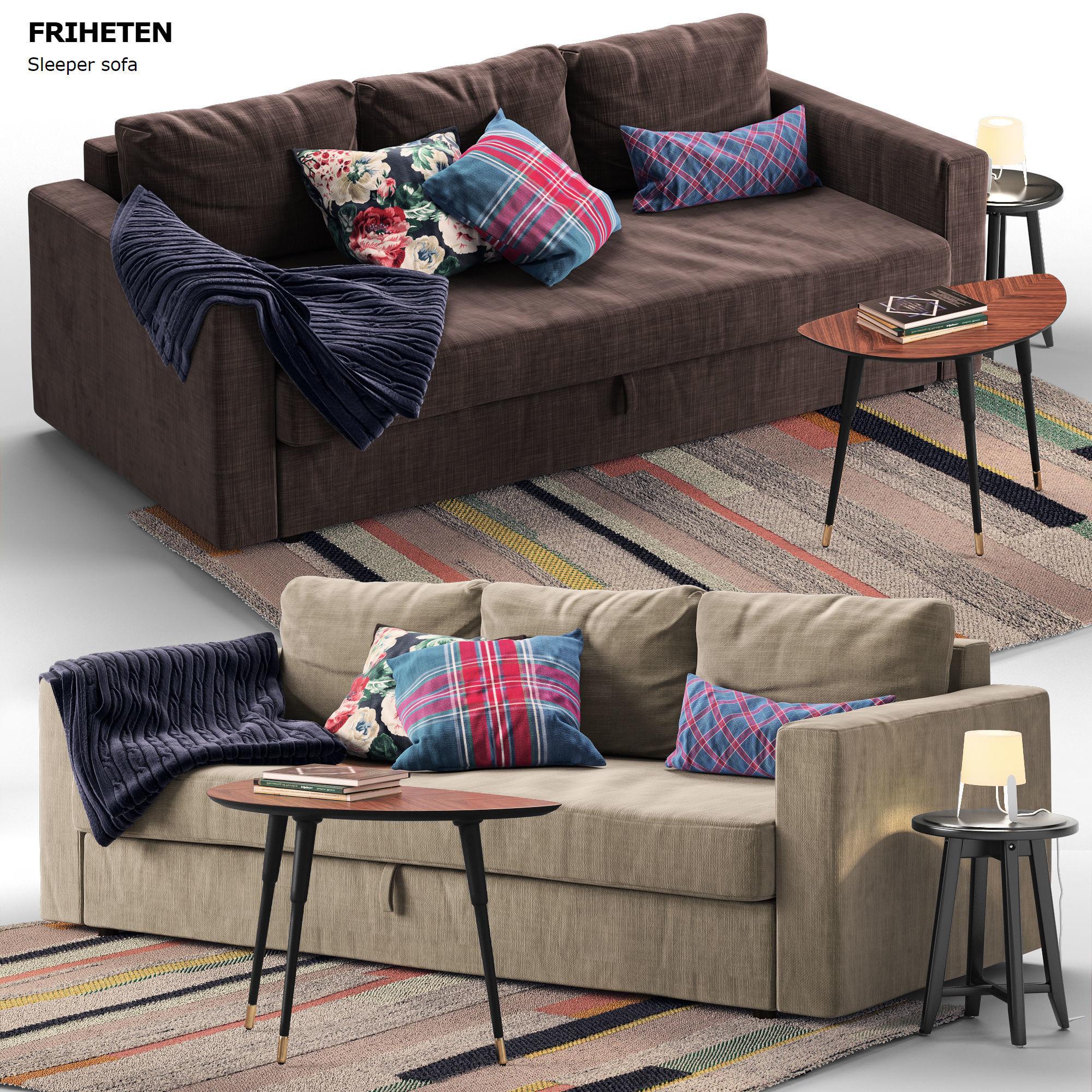 Sofa Friheten Ikea.Sofa Friheten Ikea 3d Model