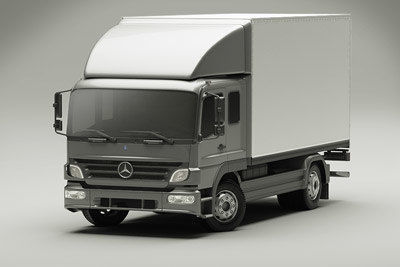 Mercedes Atego 2009