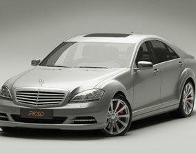 Mercedes S Class 2009 3D