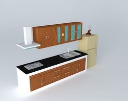 3d kitchen interior